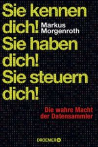 Cover Morgenroth Sie kennen dich