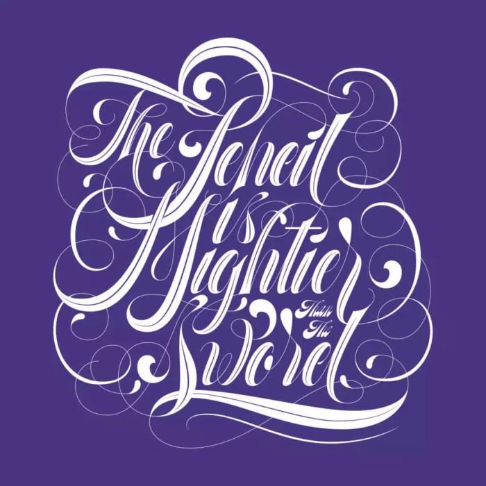 roberlan typography lettering designer