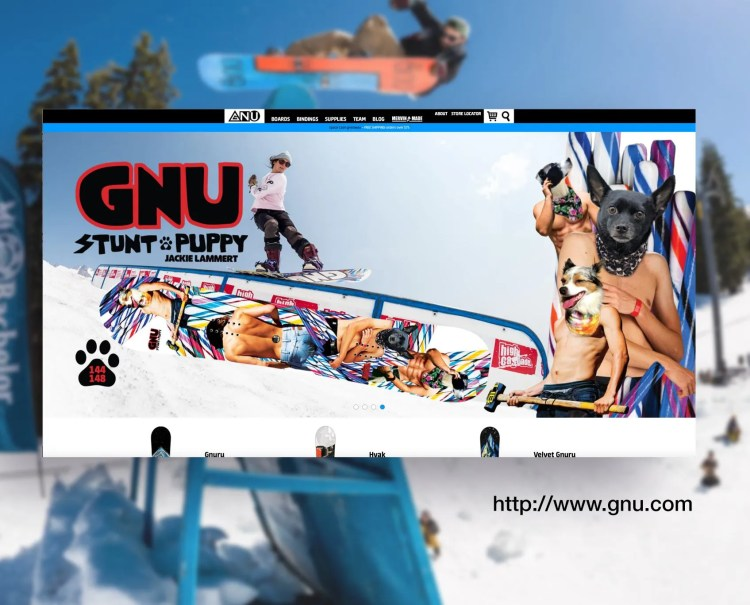 GNU Snowboards Website