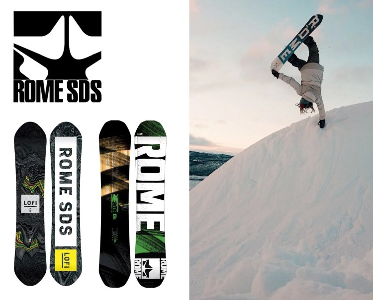 Rome Snowboard Brand
