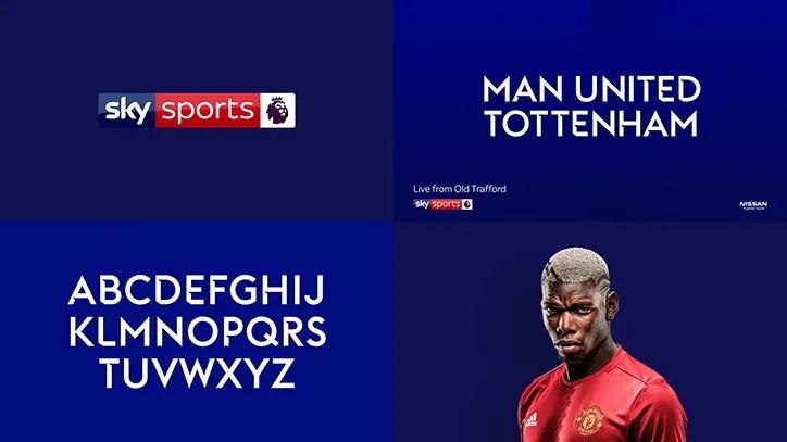 Sky Sports Brand Usage