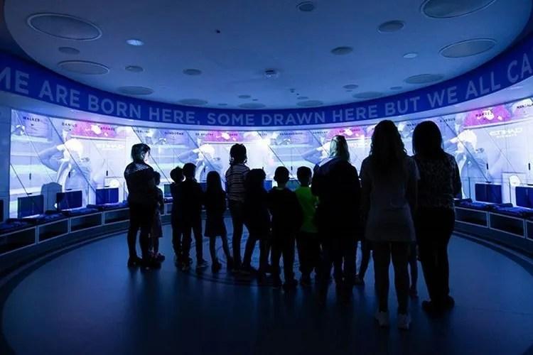 Manchester City Augmented Reality Virtual Stadium Tour