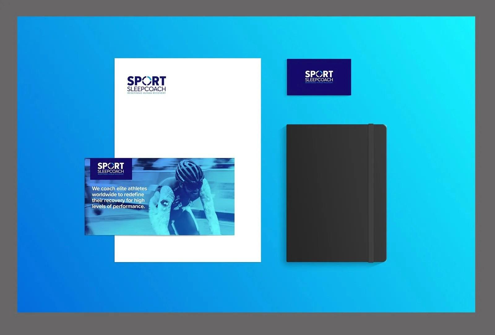 Sport Sleep Coach Branding