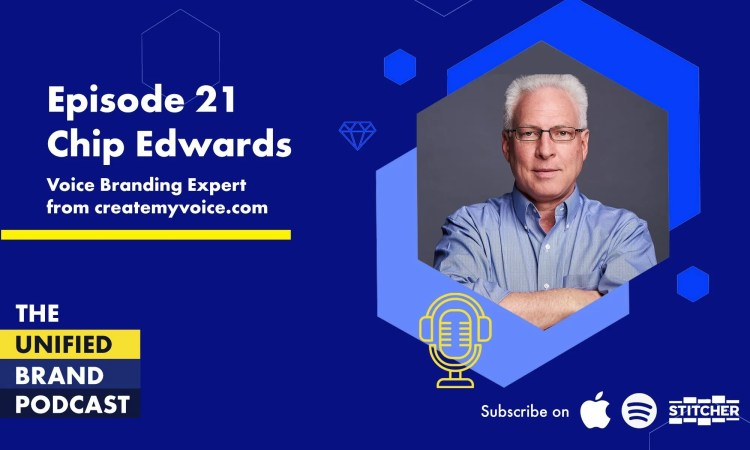 Creating a Verbal Brand With Chip Edwards, Voice Branding Expert From Create My Voice