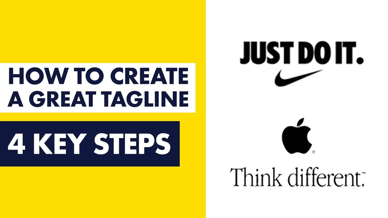 How to Create a Great Tagline for Your Brand
