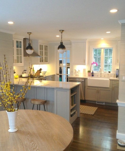 Cape May Cobblestone cabinets