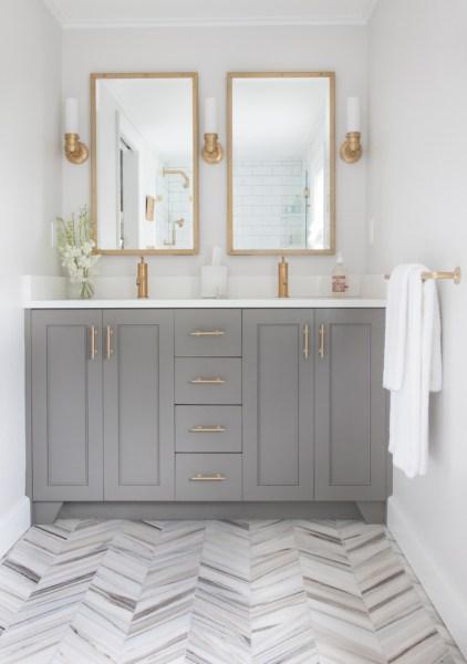 Bathroom vanity paint color