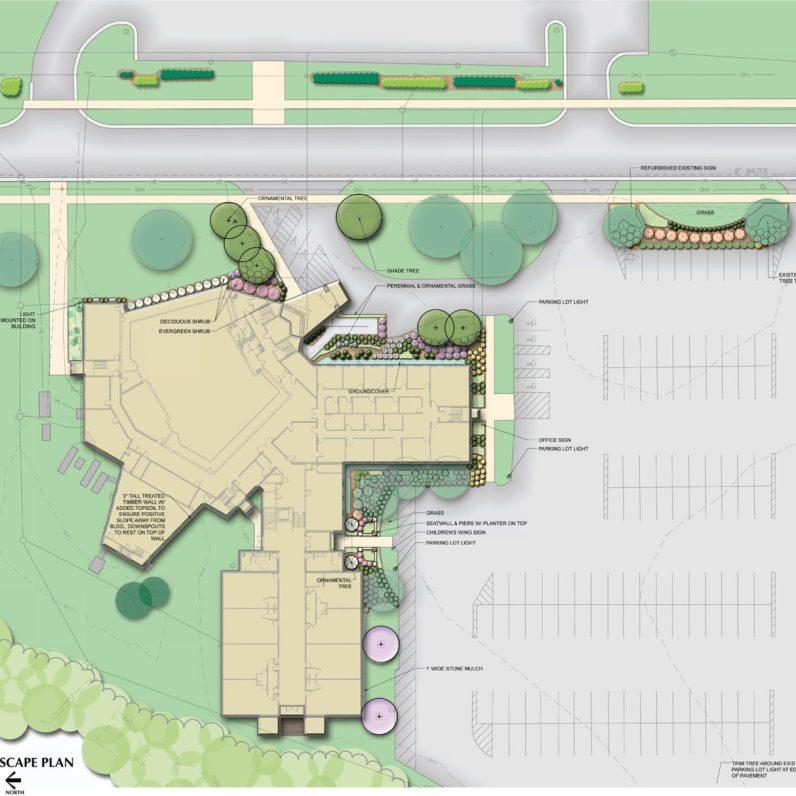Church Landscape Plan