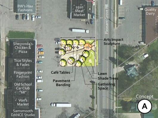 Town Square-Concept A