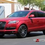 Audi Q7 Wheels Custom Rim And Tire Packages