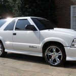 Chevrolet S 10 Wheels Custom Rim And Tire Packages