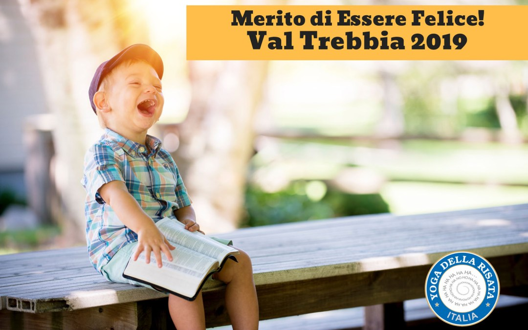 MERITO DI ESSERE FELICE! Laughter Yoga Leader Training