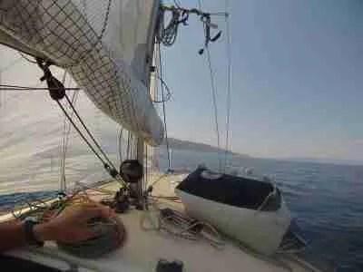 Partire per mare con una barca a vela