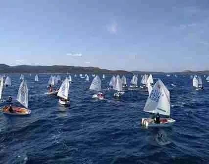 Optimist Kinder+Sport Arzachena: vento, regate e tanto altro