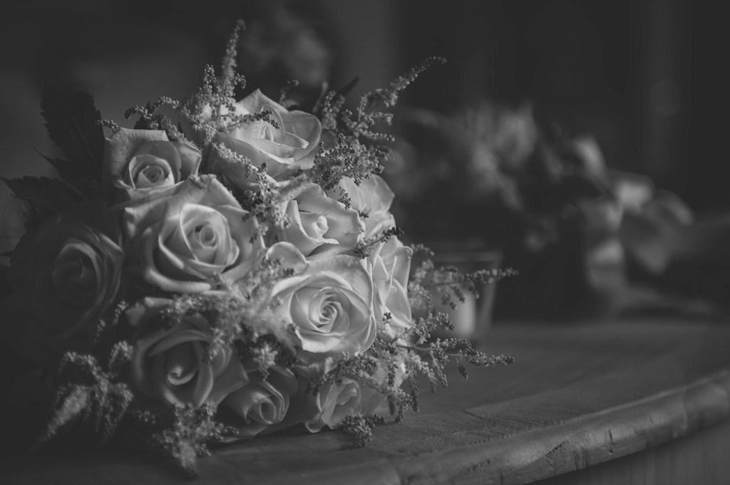Wedding photography - detail bouquet