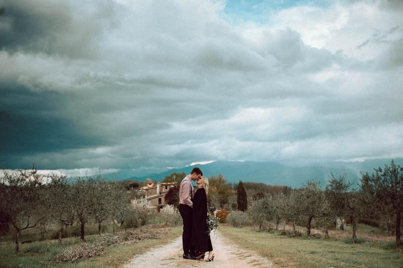 Toscane Verlovingssessie