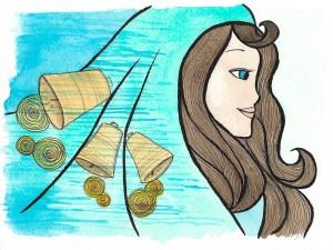 Elena Mantovan's illustratie van de Krijger van het Licht