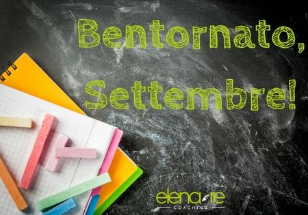 Settembre: un nuovo inizio - Elena Re Coaching - Cuneo