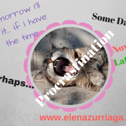 Elena Zurriaga:Procrastination and how to beat it