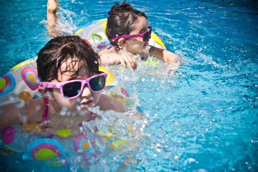 Lavori in corso per la piscina!