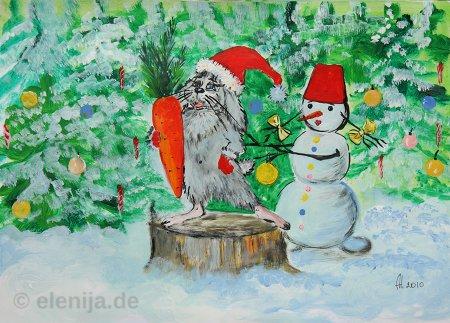 Winterwunder, von Elenija
