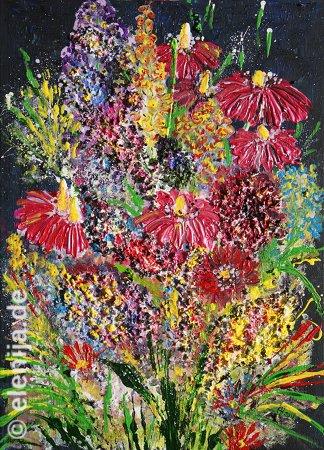 Blumenfeuerwerk, von Elenija