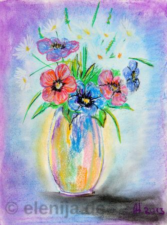 Blumenstrauß der Freude, von Elenija