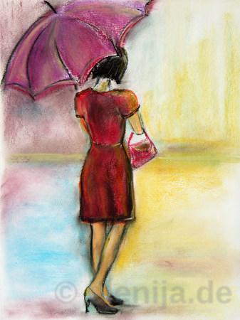 Regen, von Elenija