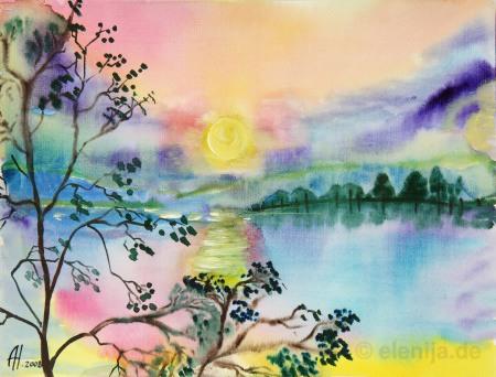Sonnenaufgang, von Elenija