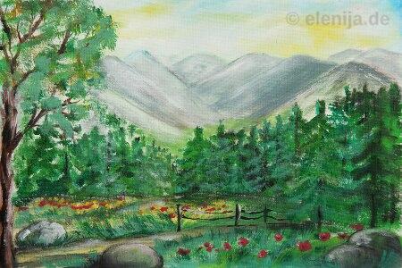 Das Wesen der Berge, Elenija, www.elenija.de
