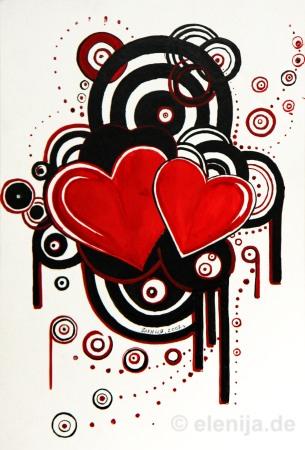Quarte singenden Herzen 2