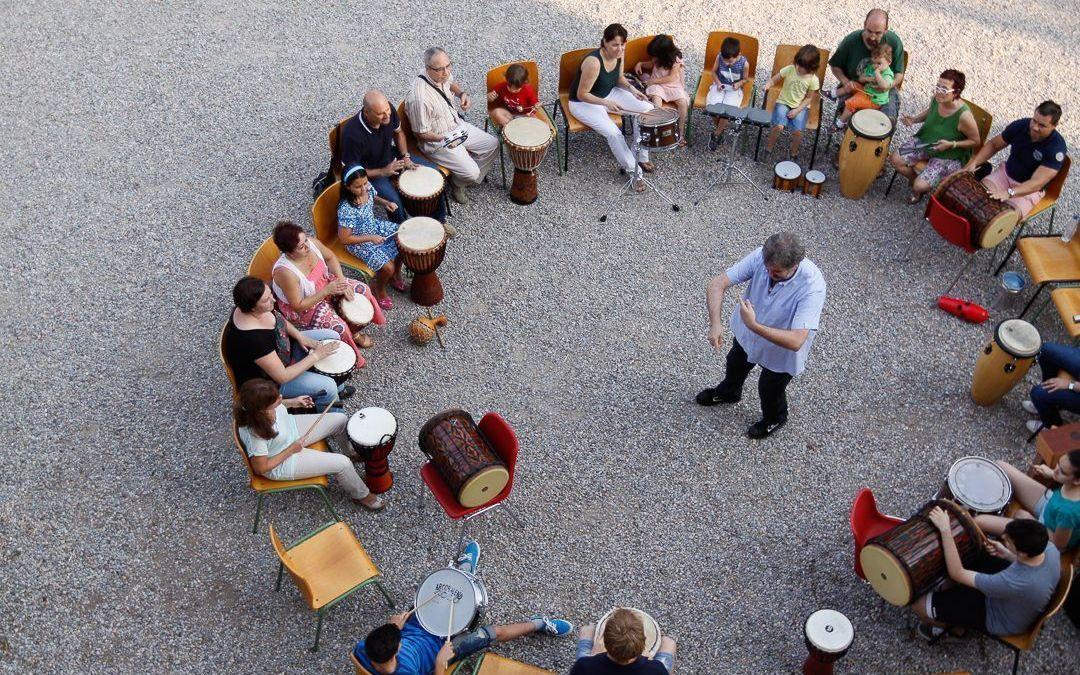Círculos de percusión con Pau Gimeno