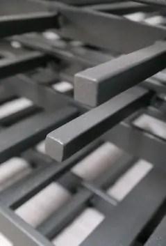 Beispiel 12 Millimeter Vierkantstäbe massiv