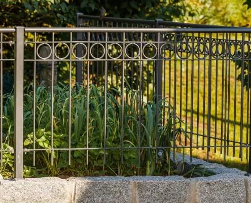 Gartengeländer in Pulverbeschichtung
