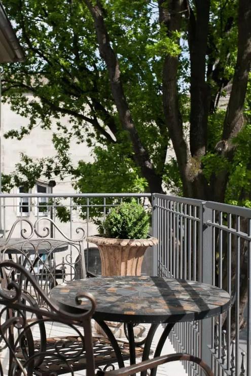 Geländer Bausatz Lucca in pulverbeschichteter Ausführung