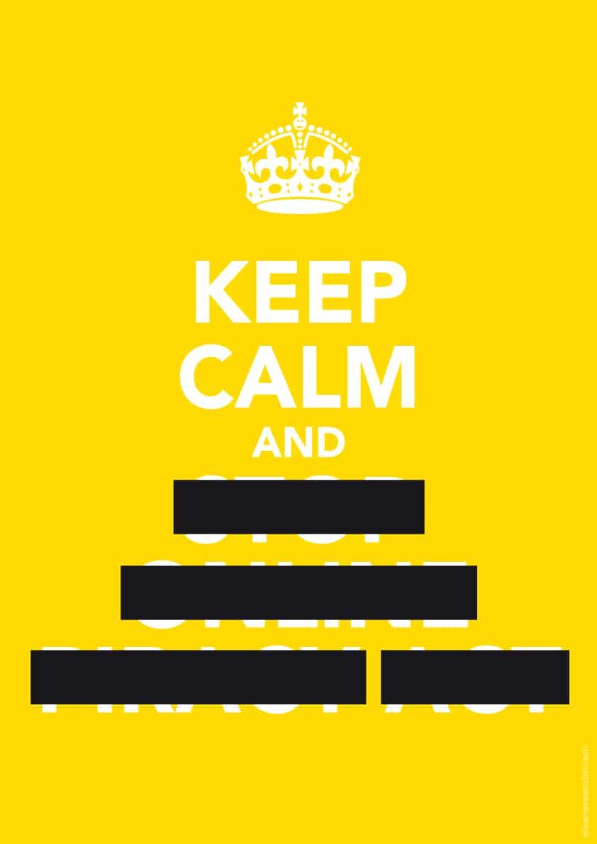 Keep Calm and SOPA