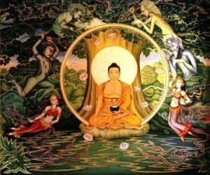 buddha e mara