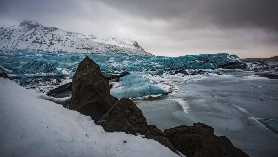 Il ghiacciaio Svínafellsjökull