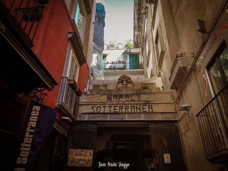 Napoli sotterranea ingresso