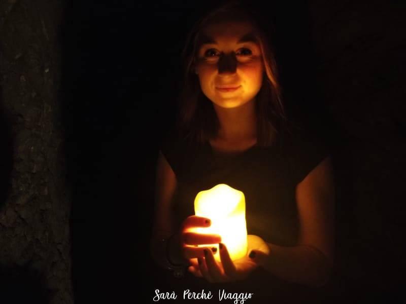 Tour di Napoli sotterranea con le candele