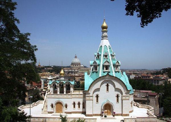 Храм святой великомученицы Екатерины Русской Православной церкви в Риме