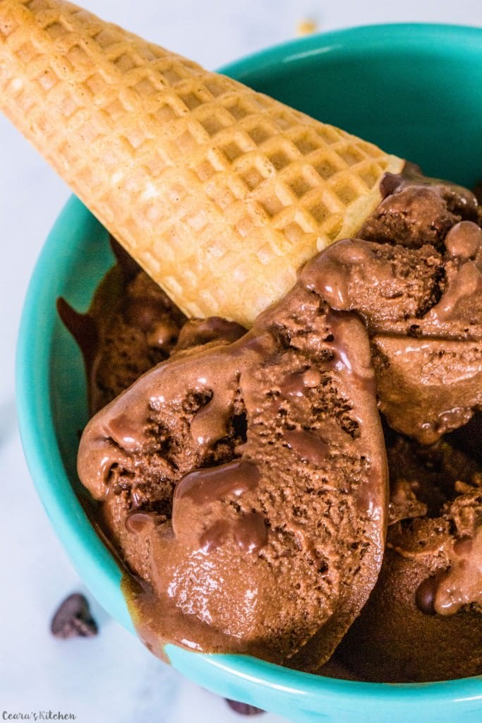 Chocolate Ice Cream - Ceara's Kitchen