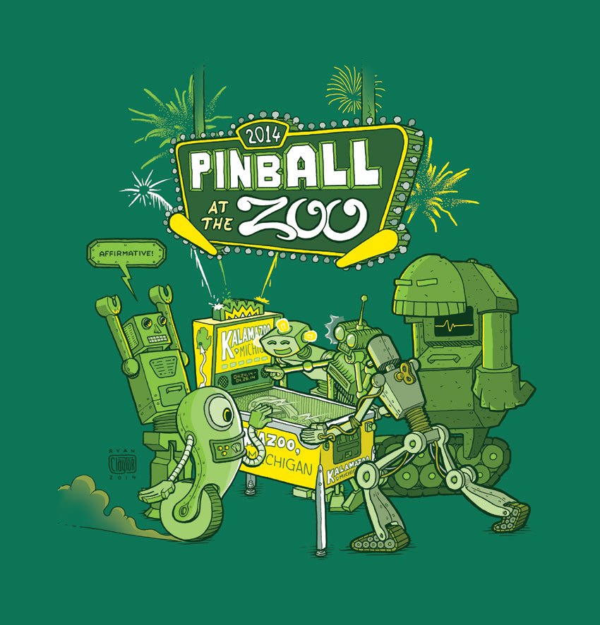 Image result for Pinballatthezoo