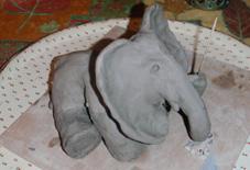 elephant assis