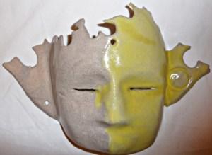 "masque ""mi soleil"""