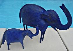 éléphants fer