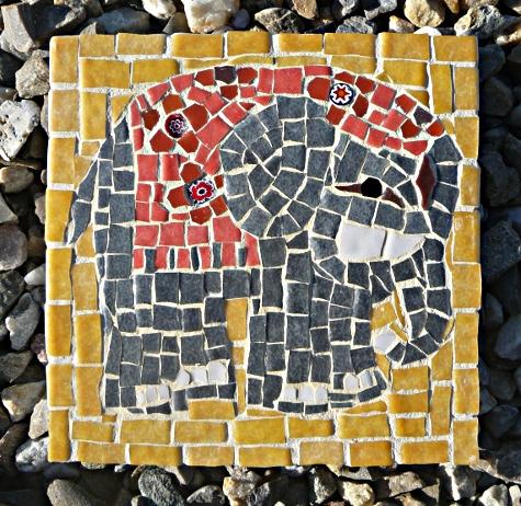 L'éléphant vu par Véro