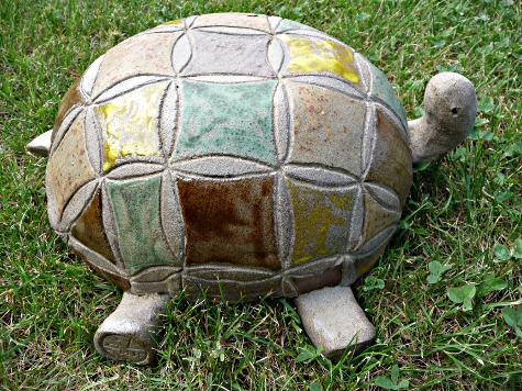 Rosace Elmer _ tortue terrestre  © Michèle Ruffin