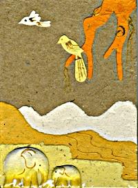 Elephant Dung Paper -cadeau de Sylviane T.