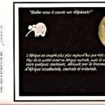 """Jeu Mail Art Dany """"aidez nous à sauver les éléphants"""""""